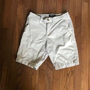 Men's gray american eagle shorts